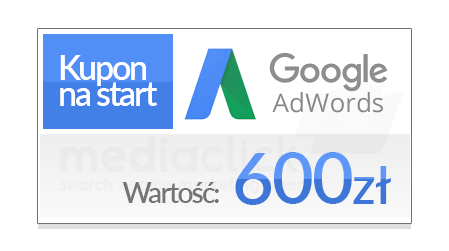 Kupon AdWords 600 zl