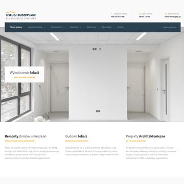 Strona internetowa fizjoterapeuta