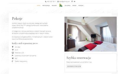 Strona internetowa dla hotelu – Jaka powinna być?
