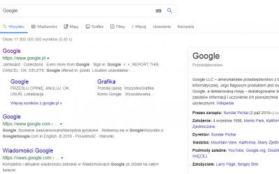 Historia Google czyli jak Larry Page i Siergiej Brin stworzyli najpopularniejszą wyszukiwarkę internetową