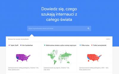 Google Trends – jak korzystać i dowiedzieć się czego szukają internauci?