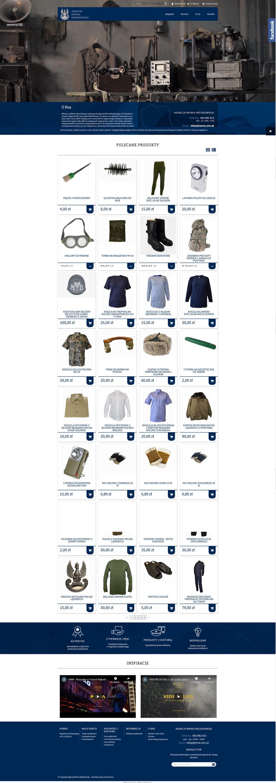 Agencja Mienia Wojskowego - Shoper Premium