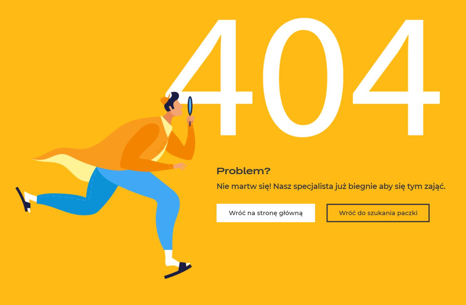 Błąd 404 - Inpost.pl