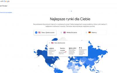 Market Finder Google – bezpłatna analiza rynku ułatwiająca zagraniczną ekspansję