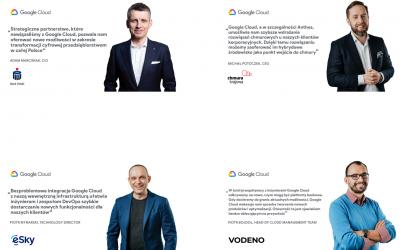 Google Cloud – nowe centrum w Warszawie ruszy 14 kwietnia